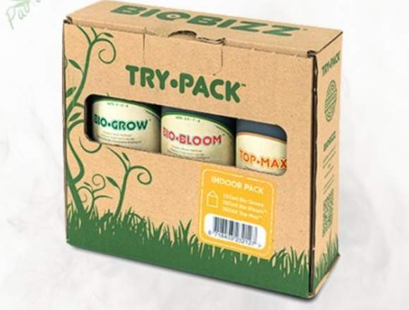 Try Pack Indoor Bio Bizz 750 ML.