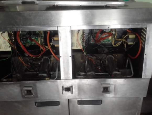 freidora open fryer a gas