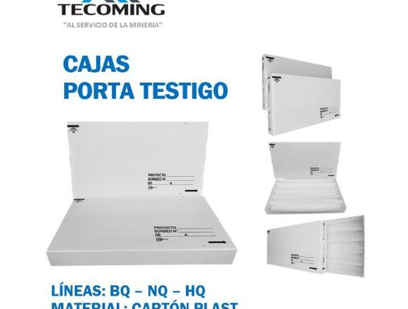CAJAS PORTA TESTIGO BQ - NQ - HQ
