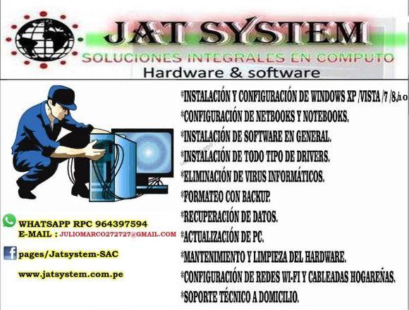 Servicio técnico de computadoras lima