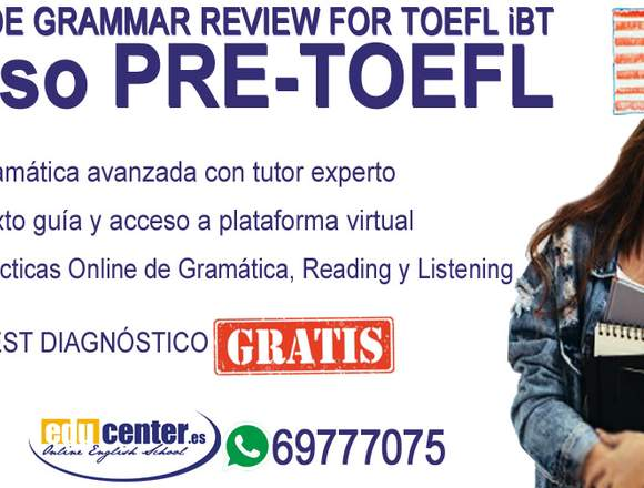 ADVANCED ENGLISH GRAMMAR REVIEW FOR TOEFL iBT