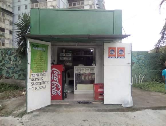 Kiosco en Los Samanes Baruta LISTO PARA TRABAJAR