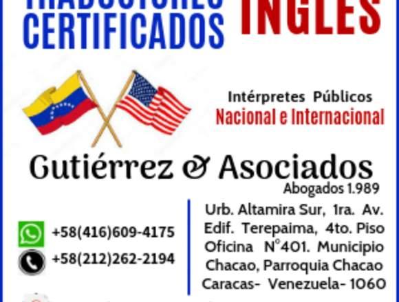 Traducciones Ingles Venezuela