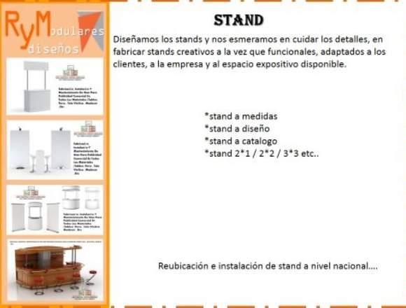 FABRICACIÓN DE STAND  Y MUEBLES DE OFICINA