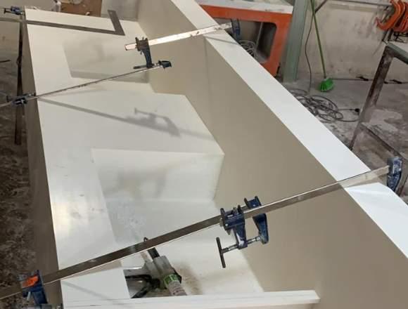 Reparación y mantenimiento de cubiertas corian