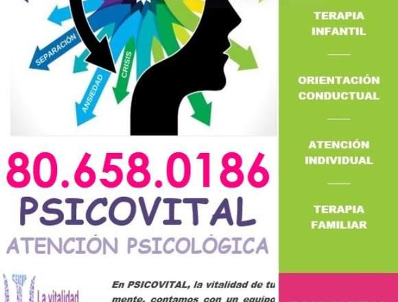¿Atención Psicológica? PSICOVITAL