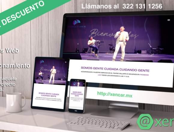 Diseño Web Puerto Vallarta