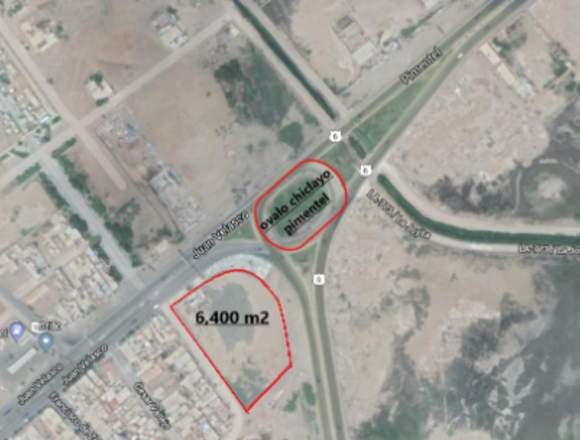 venta de terreno comercial 6,400 m2 chiclayo