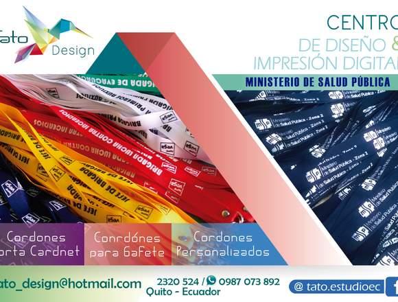 Cordones personalizados, cordones porta credencial