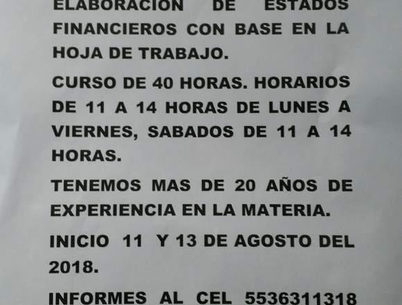 PREPA EN 3 MESES Y CURSOS DE CONTABILIDAD GENERAL