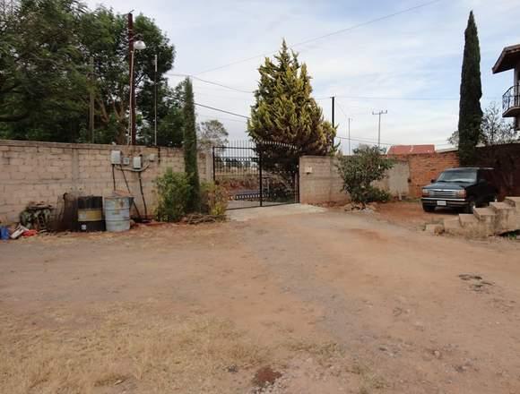 Casa y terreno en venta en San Jose de Bazarte
