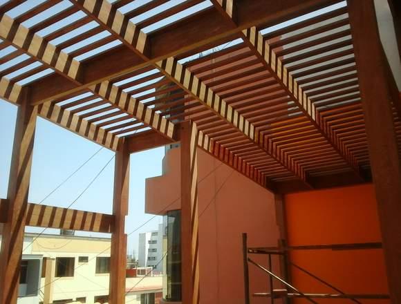 techos de madera ortega