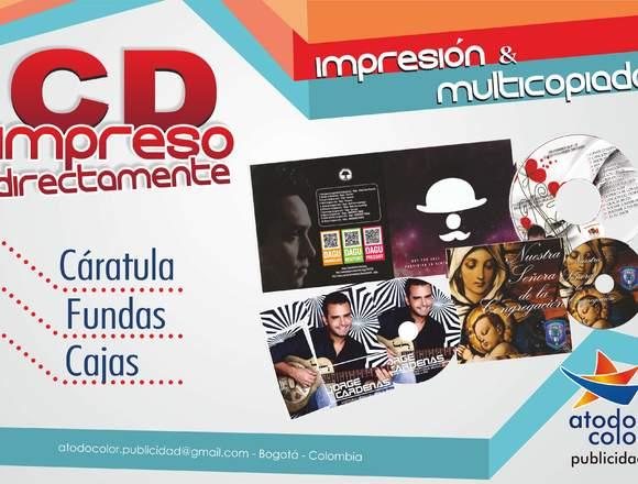 CDs Y DVDs , impresión directa, multicopiado.