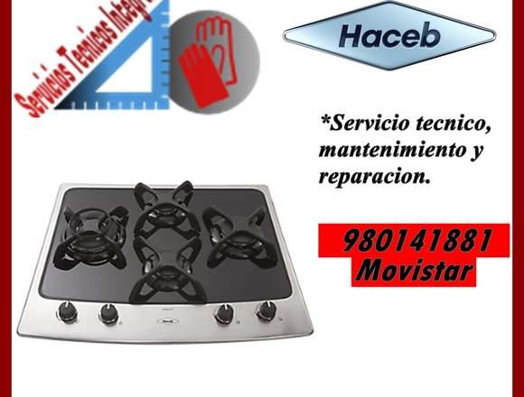 HACEB COCINA VITROCERAMICA SERVICIO TECNICO