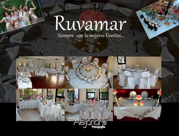 Jardin Ruvamar = Para Todos sus Eventos Sociales