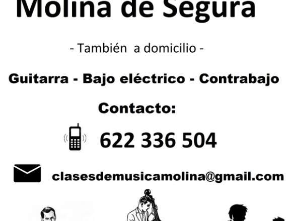 CLASES DE GUITARRA, BAJO Y CONTRABAJO.