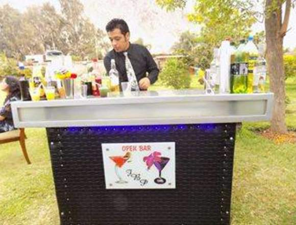 Servicio De Barman,mozos A1,Barra Móvil ADomicilio