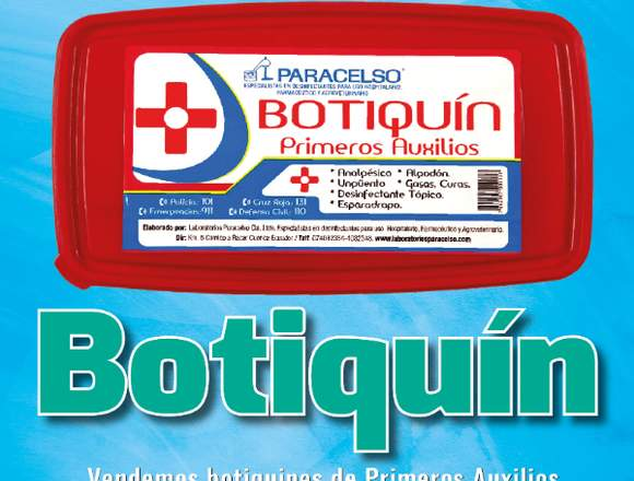 Botiquines al por mayor