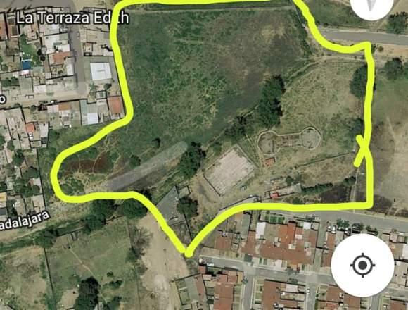 Terreno de 3 hectáreas en Parques de Tesistán