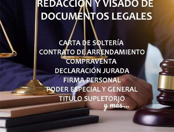 Asesorías y Documentación Legal