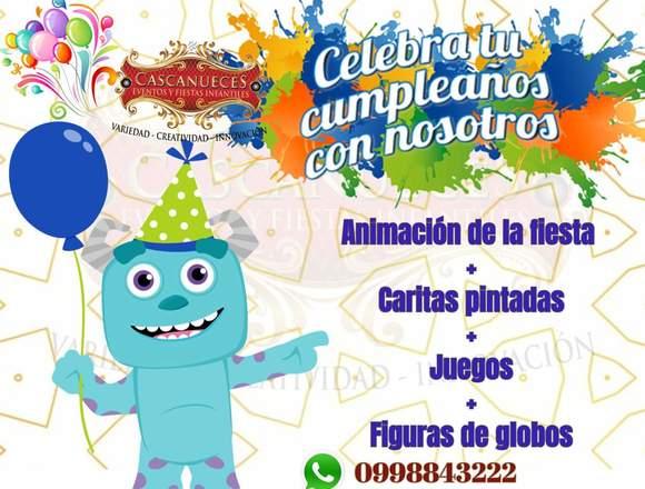 Animación de fiestas infantiles en cuenca