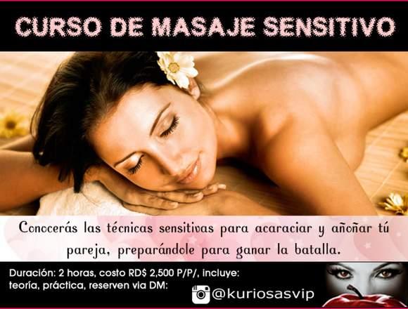 Curso de masaje sensitivo
