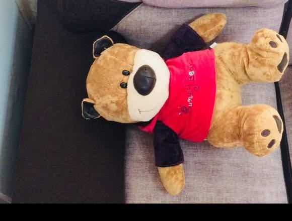 Oso peluche teddy marrón