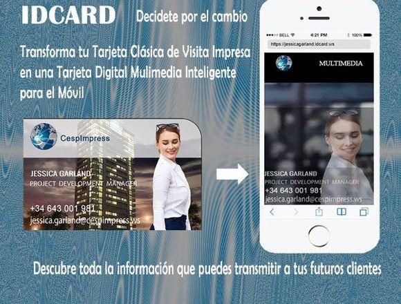 Tarjeta Digital IdCard