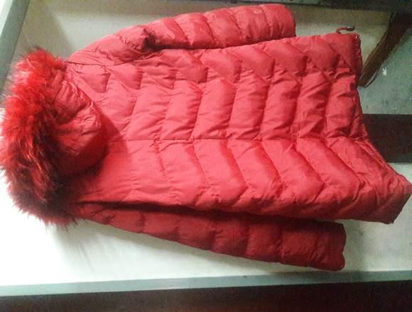 Vendo campera de abrigo con piel