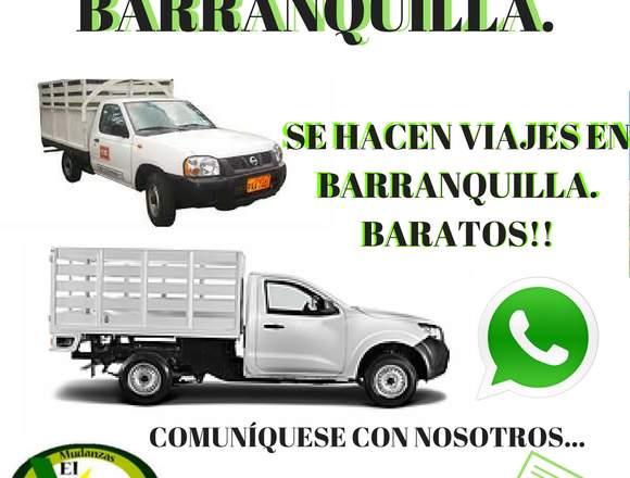 MUDANZAS BARRANQUILLA, BARATOS! 3135555549-3035545