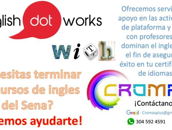Ingles con cromas, clases y traducciones.