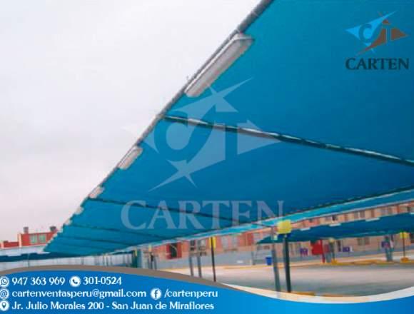 Toldos Playa de Estacionamiento Carten Perú