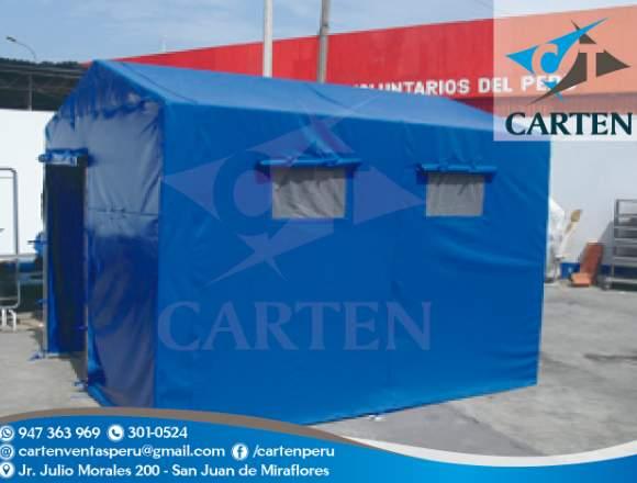 Campamentos Modelo Casita Campaña Carten Perú