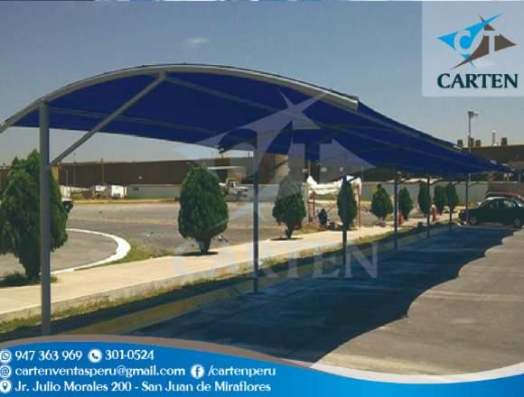 Toldos Modelo Fijo Estacionamiento Carten Perú
