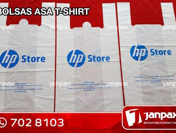 Bolsas Con Asa Camiseta -  JANPAX