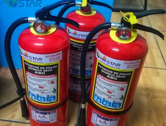 Recarga de Extintores en Breña