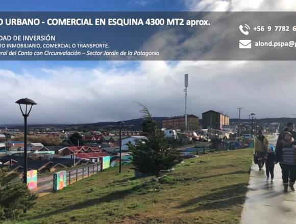 Terreno Urbano 4300 MT2 Gral del Canto