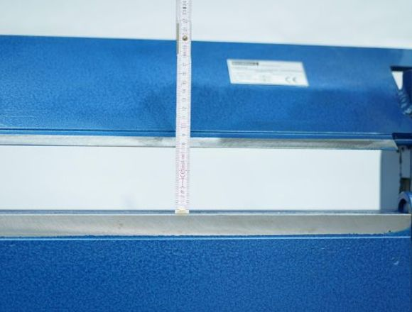 Dobladoras para chapas 1400/2mm de aluminio