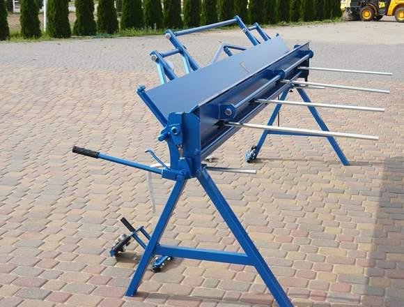 Plegadora manual para aluminio   3 metros