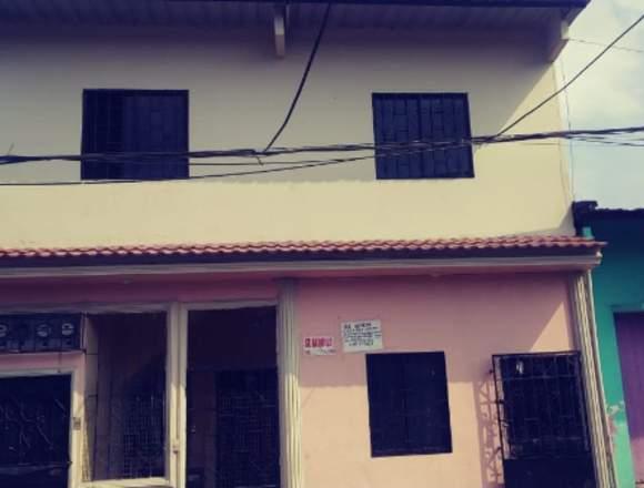 vendo casa de dos pisos rentera en norte guayaquil