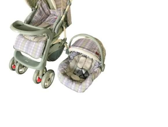 Coche De Bebé Marca Graco Más Cuna De Auto.