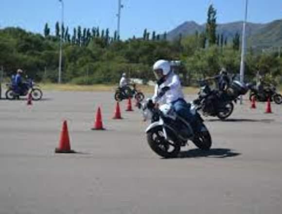 clase de manejo moto