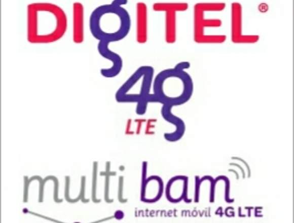 Multibam portátil DIGITEL 4g