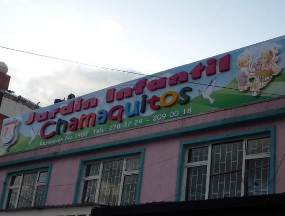 letreros para Colegios y Jardines infantiles