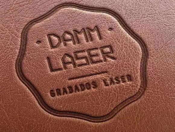 Grabado laser sobre cuero y otros