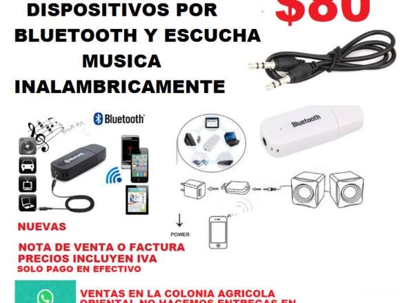 RECEPTOR USB DE AUDIO BLUETOOTH