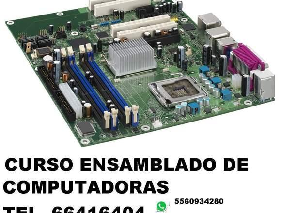 CURSO BASICO DE ENSAMBLADO, INSTALACIÓN