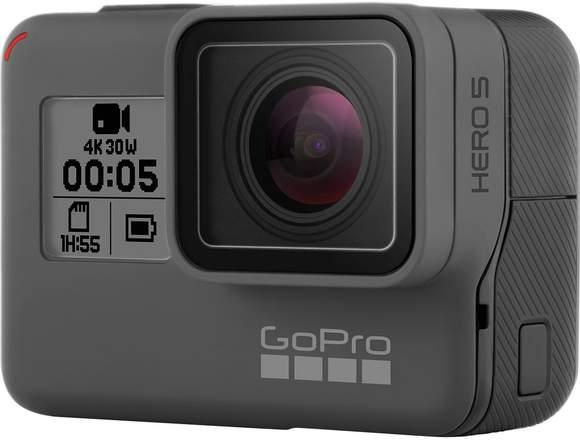 GoPro Hero 5 Black + SD 32GB 500X. Nueva en caja!!