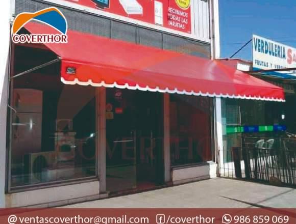 Toldos Empotrados Para Tienda Enrollable Coverthor