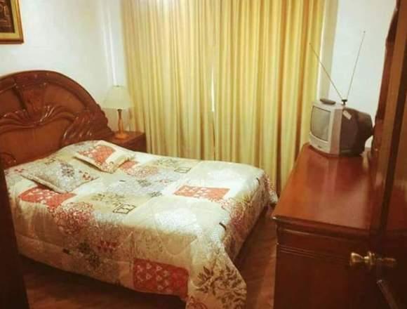 Rento departamento amoblado 2 dormitorios